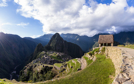 the lost city of the incas: Machu Pichu, Peru - May 16 : The Lost City of the Incas or Machu Pichu, beautiful site in Peru. May 16 2016, Machu Pichu Peru.