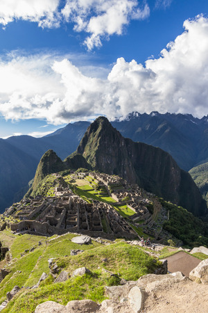 Machu Pichu, Peru: The Lost City of the Incas or Machu Pichu, beautiful site in Peru. Stock Photo - 64332349