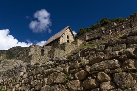 Machu Pichu, Peru: The Lost City of the Incas or Machu Pichu, beautiful site in Peru build with lots of stones.