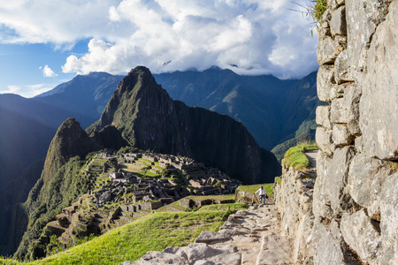 the lost city of the incas: Machu Pichu, Peru: The Lost City of the Incas or Machu Pichu, beautiful site in Peru.