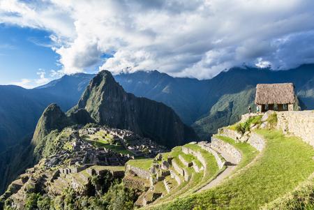 Machu Pichu, Peru : The Lost City of the Incas or Machu Pichu, beautiful site in Peru.