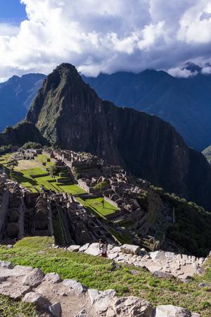 Machu Pichu, Peru: The Lost City of the Incas or Machu Pichu, beautiful site in Peru. Stock Photo - 64305363