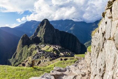 Machu Pichu, Peru: The Lost City of the Incas or Machu Pichu, beautiful site in Peru.