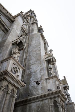 San Isidro, Costa Rica - May 21 : Beautiful architecture and detail in the Church of Coronado. May 21 2016, San Isidro Costa Rica.