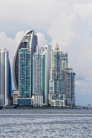 Panama City, Panama: Cityscape from across the bay in Panama.
