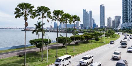 Panama City, Panama- June 08: Buildings and infrastructure in Panama City. June 08 2016, Panama City, Panama. Editorial