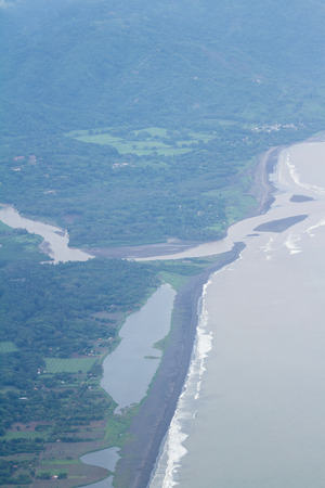 coastline of the Province of Puntarenas in Costa Rica
