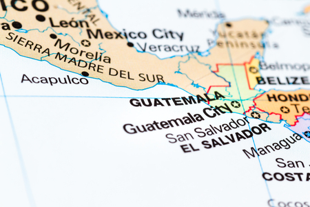 Close up of the country of guatemala on a world map stock photo close up of the country of guatemala on a world map stock photo 90531179 gumiabroncs Gallery