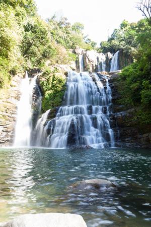 Nauyaca, Costa Rica: People enjoying a dip and the view of these waterfalls.