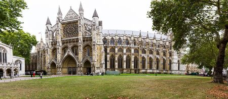 London  - September 06 2019: St Margaret's Church in the grounds of Westminster Abbey. A beautiful church from the 12th century, London September 06,  2019