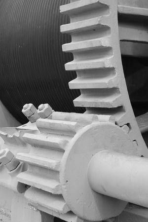 enormous: enormous gears Stock Photo