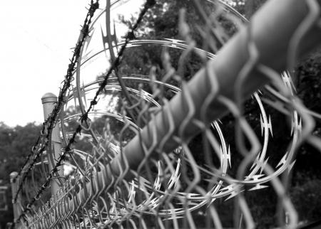 felony: Razor wire