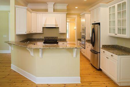 beautiful unfurnished kitchen