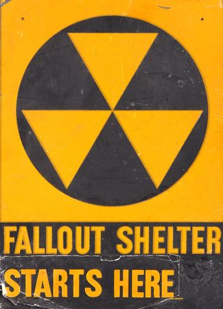 nuclear fallout sign photo