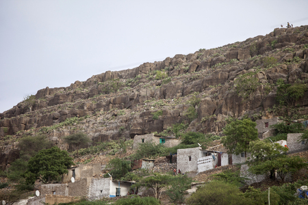 dire: Cliff Dwellings in Dire Dawa, eastern Ethiopia