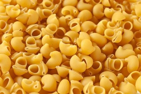Italian raw pasta, Pipe Rigate (lined pipe)