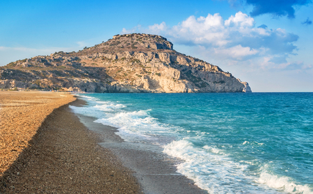 Traounou beach, Rhodes island, Greece