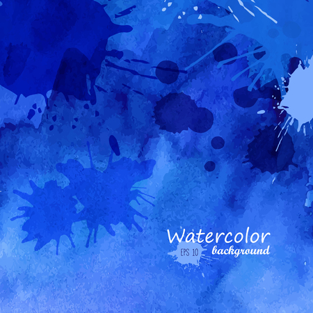 painted background: Watercolor abstract painted background
