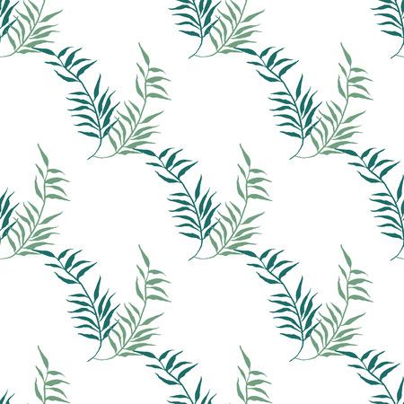 Aquarelle floral pattern. Hand drawn texture à la feuille. Banque d'images - 63720817