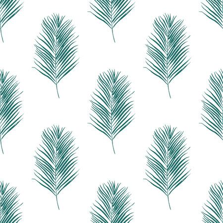 Aquarelle motif floral sans soudure. Texture dessinés à la main avec des feuilles. Banque d'images - 63720818