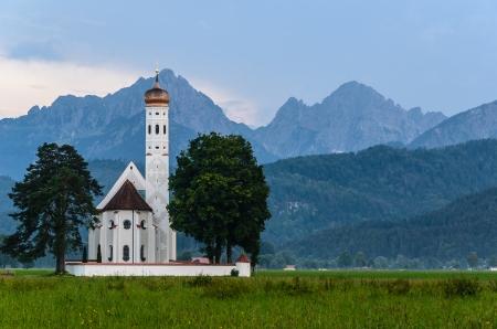 schwangau: Pilgrimage church Saint Coloman Schwangau