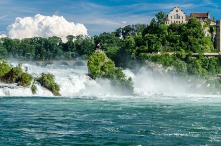 rhein: Rheinfall von Schaffhausen
