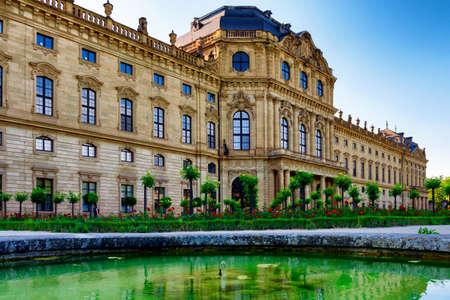 residenz: The Residenz of Wurzburg, Germany Stock Photo