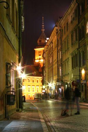 Casco antiguo de Varsovia  Foto de archivo
