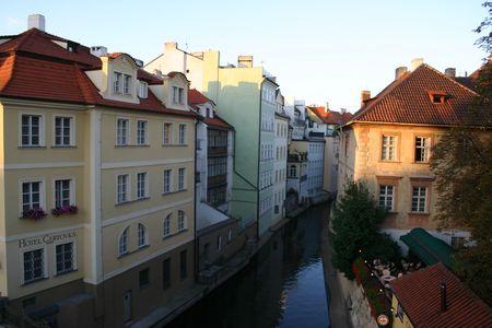 Praga r�o Foto de archivo