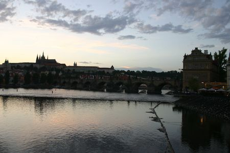 czech culture: prague bridge