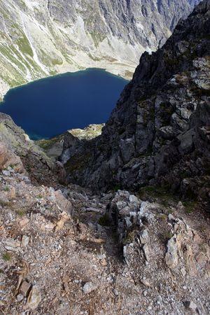 Slovakia Mountain View Stock Photo