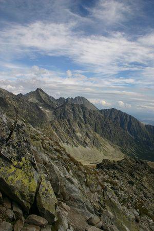 tatry: Slovakia Mountain View Stock Photo