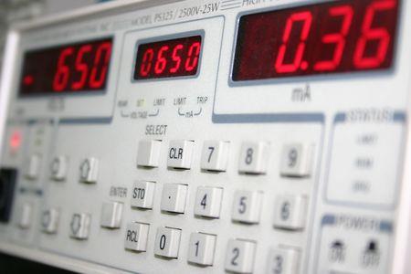 metering: metering device Stock Photo