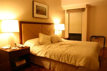 hotel bedroom Stock Photo - 1876176