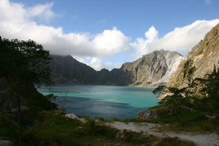volc�n del pinatubo Foto de archivo