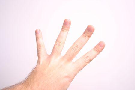 hand four Stock Photo - 1905231