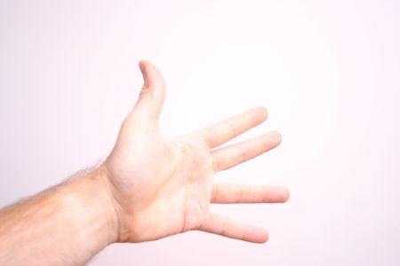 Hand 5 five Stock Photo - 1905201