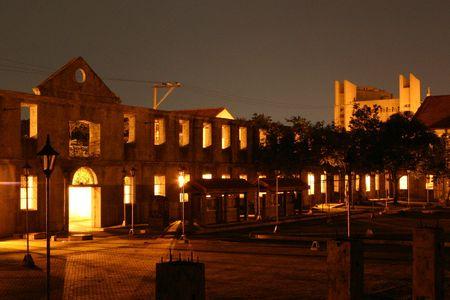 Manila antiguo de la ciudad  Foto de archivo