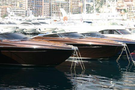 Motor boats photo