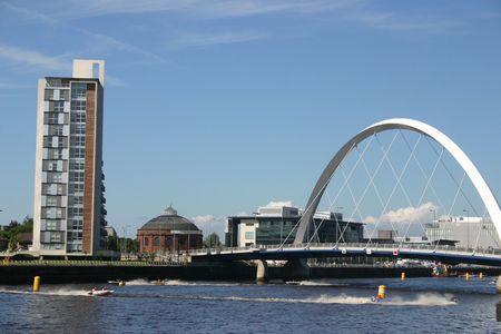Puente de Newcastle Foto de archivo