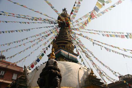 kathmandu stupa Stock Photo - 2004863