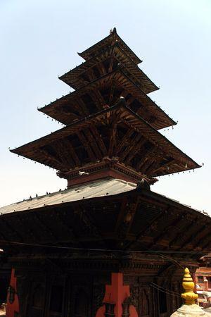kathmandu: kathmandu temple Stock Photo