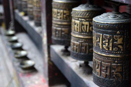 templo de Katmandu Foto de archivo