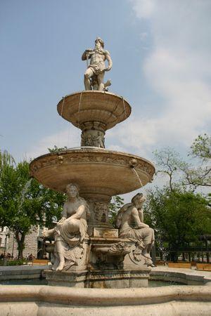 budapest fountain photo