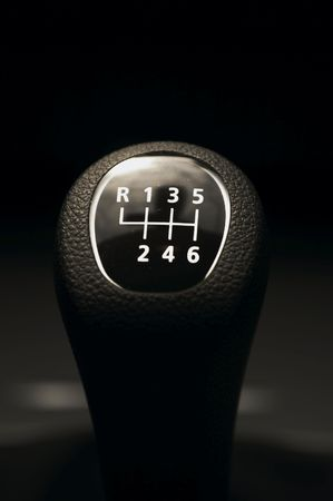 lever: gear shift