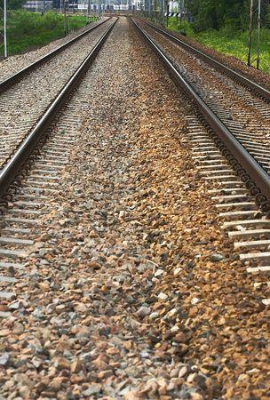 sleepers: railway tracks