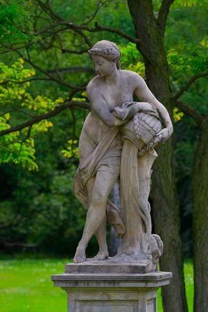 statue grecque: Greek statue Banque d'images