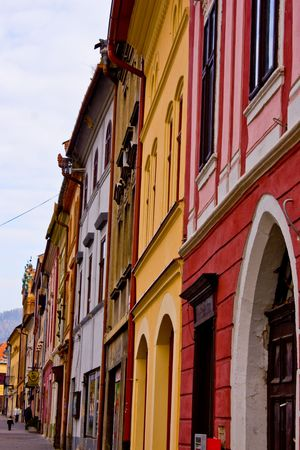levoca old town mansions  photo