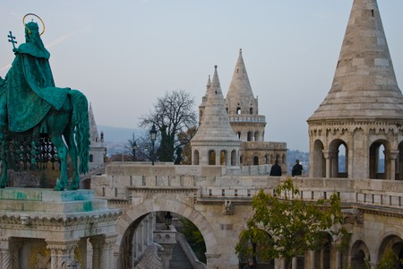 budapest castle tower