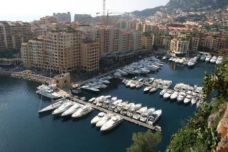 Monte Carlo vista Foto de archivo